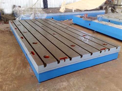 铆焊平台的使用与维护方式