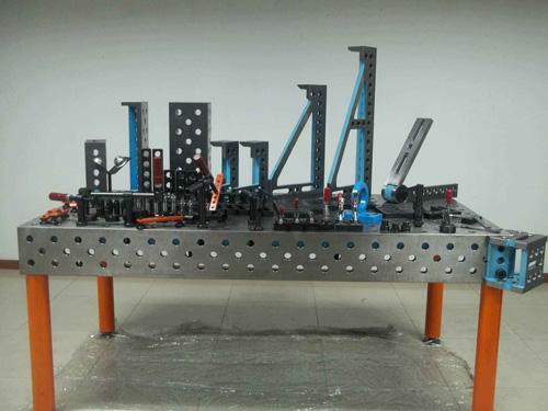 使用三维柔性焊接平台主要有什么作用