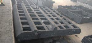 恒博铸业树脂砂消失模铸造树脂砂件 机床铸件定做